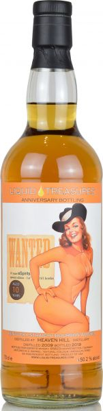 Heaven Hill 10 Jahre 2009/2019 Liquid Treasures Anniversary Bottling 50,2% vol.