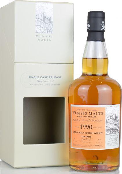 Bladnoch 29 Jahre 1990/2020 Wemyss Bourbon Barrel Bonanza