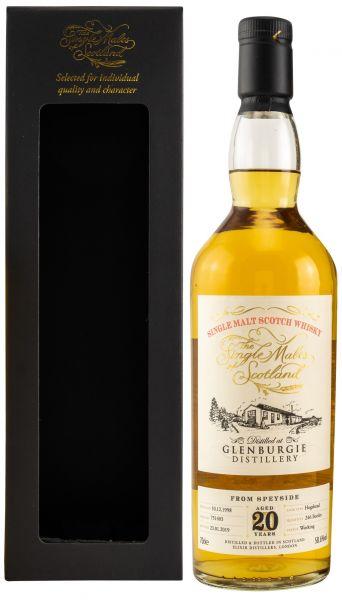 Glenburgie 20 Jahre 1998/2019 The Single Malts of Scotland 58,6% vol.