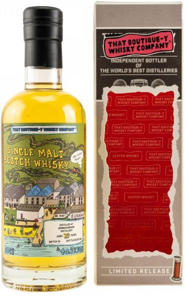 Bunnahabhain 29 Jahre Batch #12 That Boutique-y Whisky Company 40,3% vol.