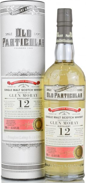 Glen Moray 12 Jahre 2008/2020 Old Particular Douglas Laing 48,4% vol.
