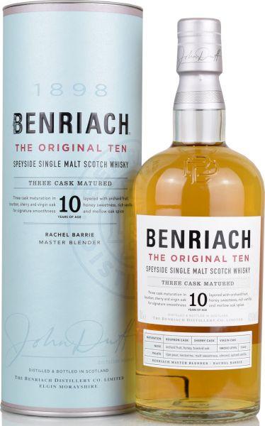 Benriach 10 Jahre The Original Ten Three Cask Matured