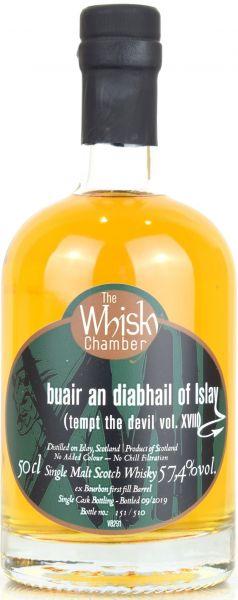 Buair an diabhail of Islay Vol. XVIII The Whisky Chamber 57,4% vol.