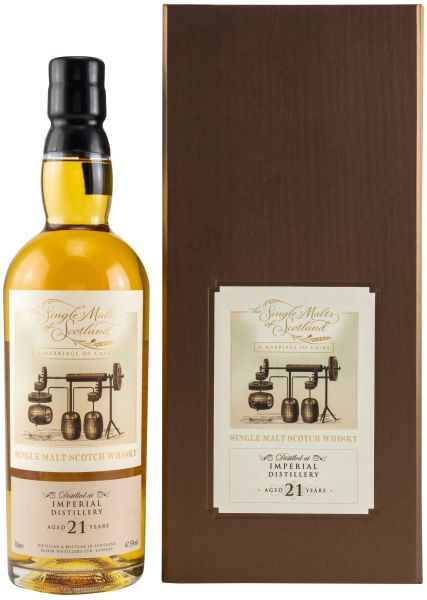 Imperial 21 Jahre The Single Malts of Scotland Marriage of Casks 47,5% vol.
