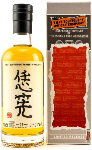 Japanese Blended 21 Jahre Batch #2 That Boutique-y Whisky Company 47,7% vol.