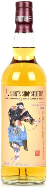 Cynelish 21 Jahre 1996/2017 S-Spirits Shop Selection 57,9% vol.