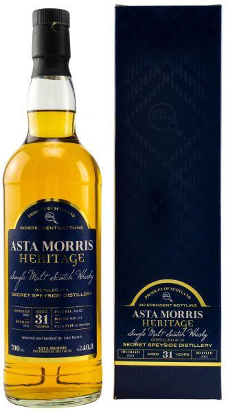 Secret Speyside 31 Jahre 1989/2021 Asta Morris 40,8% vol.