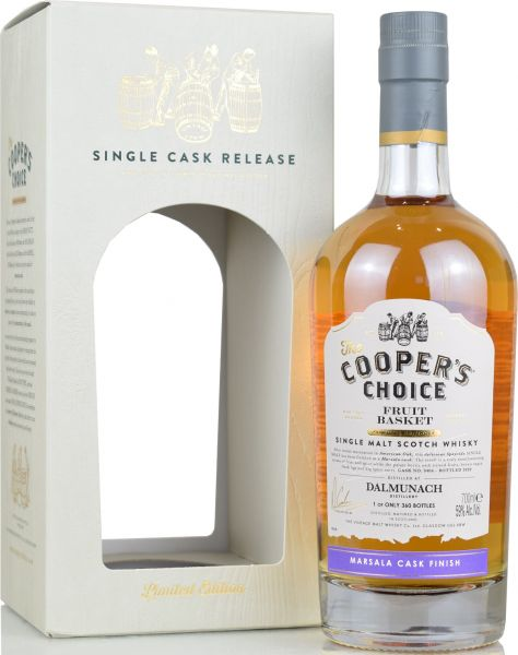 "Dalmunach ""Fruit Basket"" 2020 Marsala Cask Finish Cooper's Choice 59% vol."