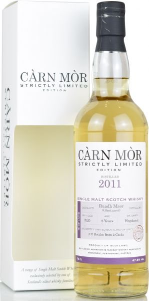 Ruadh Maor (Glenturret) 8 Jahre 2011/2020 Carn Mor Strictly Limited 47,5% vol.