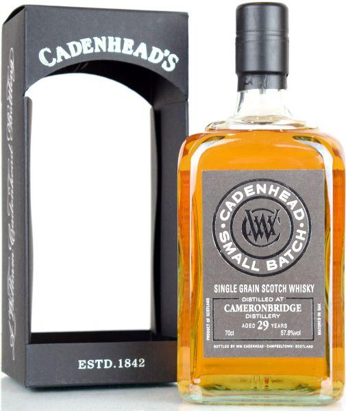 Cameronbridge 29 Jahre 1989/2019 Cadenheads 57,8% vol.