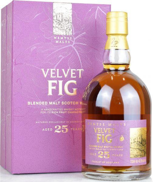 Velvet Fig 25 Jahre Sherry Cask Wemyss 42,3% vol.