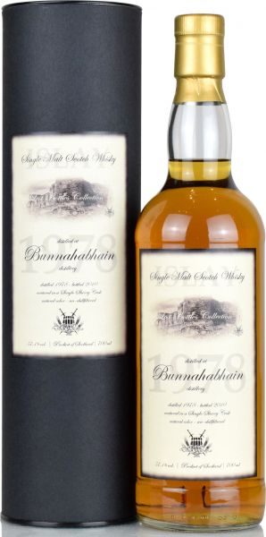 Bunnahabhain 1978/2010 Sherry Cask Lost Bottles Collection 57,1% vol.