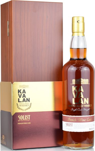 Kavalan 2012/2020 Solist French Wine Cask for germany 58,6% vol.
