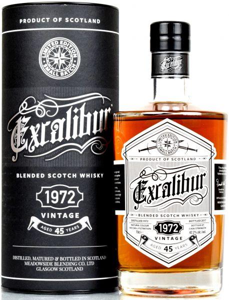 Excalibur 45 Jahre 1972/2017 Meadowside Blending