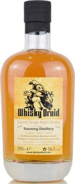 Stauning 2015/2020 Vermouth Finish #406 Whisky Druid 56,7% vol.