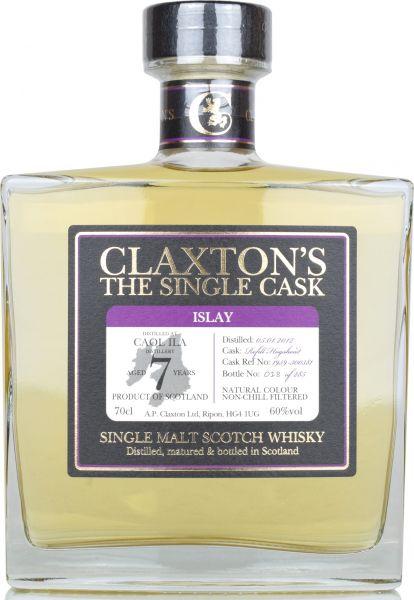 Caol Ila 7 Jahre 2012/2019 Claxton's 60 % vol.