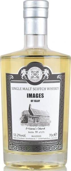 "Images of Islay ""St. Kiarans Church"" Malts of Scotland 53,2% vol."
