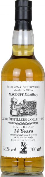 Macduff 14 Jahre 2003/2018 Jack Wiebers Auld Distillers Collection 57,9% vol.