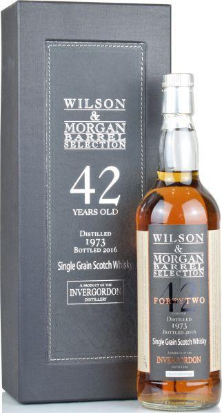 Invergordon 42 Jahre 1973/2016 Wilson & Morgan 52,6% vol.