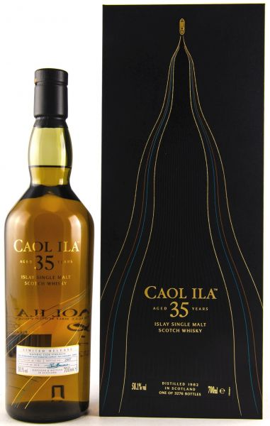 Caol Ila 35 Jahre 1982/2018 Special Release 2018