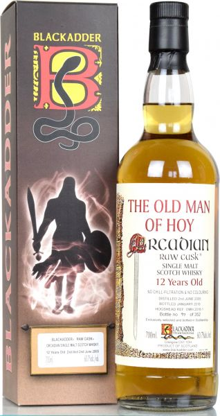 Old Man of Hoy 12 Jahre 2005/2018 Blackadder Raw Cask 60,7% vol.