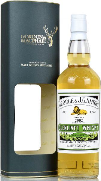 Glenlivet 15 Jahre 2002/2017 Gordon & MacPhail Distillery Label