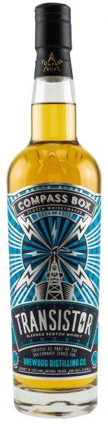 Transistor Compass Box Boilermaker Serie for BrewDog 43% vol.