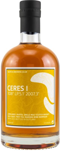 Ceres I 2011/2020 1st Fill Madeira Scotch Universe 57,2% vol.