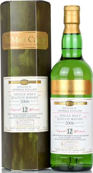 Laphroaig 12 Jahre 2006/2018 Hunter Laing 20th Anniversary Old Malt Cask