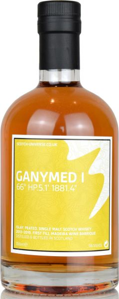 Ganymed I 2013/2018 1st Fill Madeira Barrique Scotch Universe 58,5% vol.