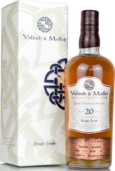 Tamdhu 20 Jahre 1998/2018 Valinch & Mallet 53,3% vol.