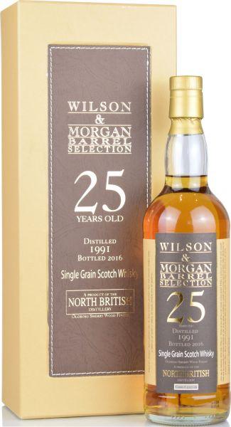 North British 25 Jahre 1991/2016 Sherry Cask Wilson & Morgan 50% vol.