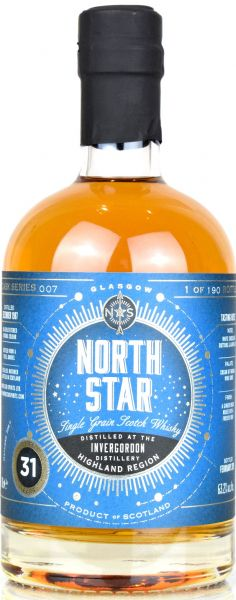 Invergordon 31 Jahre 1988/2019 North Star Spirits #007 63,2% vol.