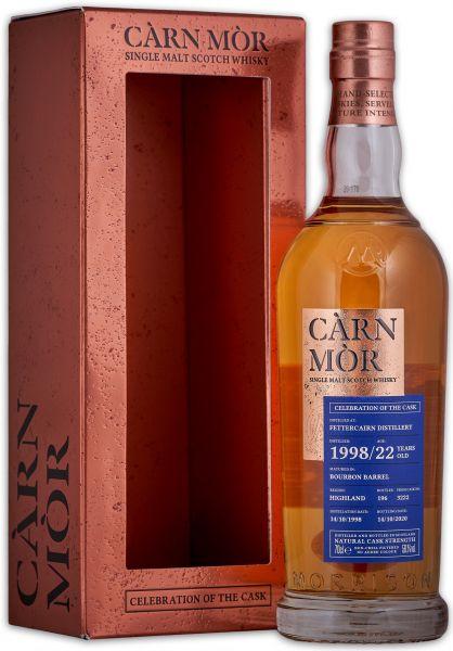 Fettercairn 22 Jahre 1998/2020 Carn Mor Celebration of the Cask 56,1% vol.