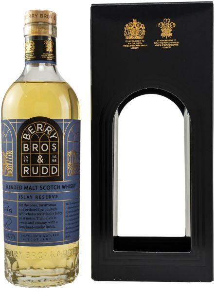 Islay Reserve Blended Malt Berry Bros. & Rudd 44,2% vol. (Neues Design)