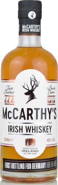 McCarthy's Irish Blended Whiskey for Germany 40% vol.