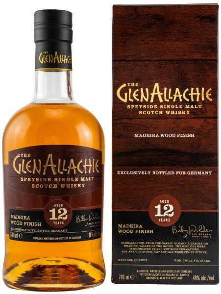 Glenallachie 12 Jahre Madeira Wood Finish 48,0% vol.