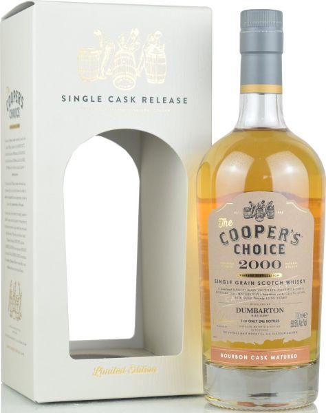 Dumbarton 20 Jahre 2000/2021 Cooper's Choice 58,5% vol.