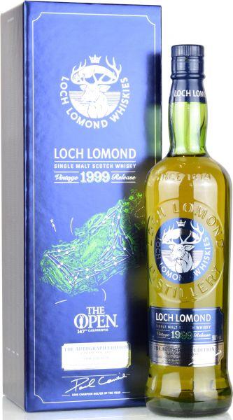 Loch Lomond 1999/2018 The Autograph Edition 50,8% vol.
