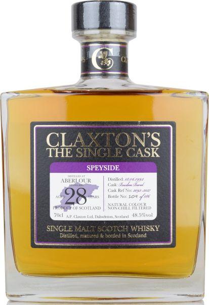 Aberlour 28 Jahre 1992/2020 Claxton's 48,5% vol.