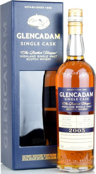 Glencadam 14 Jahre 2005/2020 Sherry Butt #1 61,8% vol.