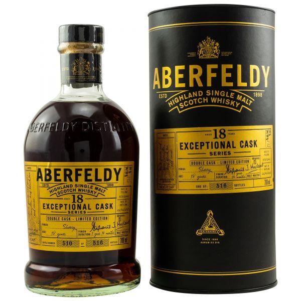 Aberfeldy 18 Jahre Exceptional Cask Series 53,3% vol.