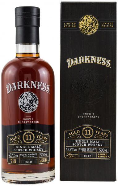 Islay Malt 11 Jahre Darkness Sherry Cask Finish 48,7% vol. 0,5 l