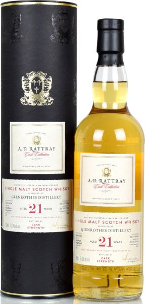 Glenrothes 21 Jahre 1996/2018 A.D. Rattray 51,9% vol.