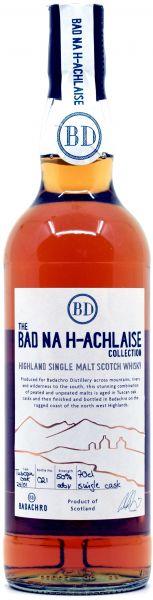 Bad na h-Achlaise Badachro Distillery Single Cask #25/01 50% vol.