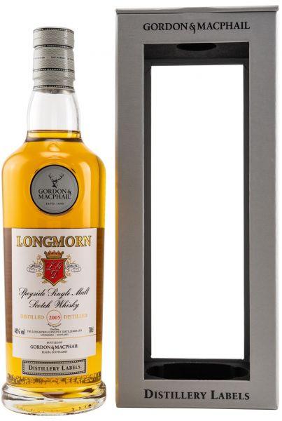 Longmorn 2005/2020 Gordon & MacPhail Distillery Label 46% vol.