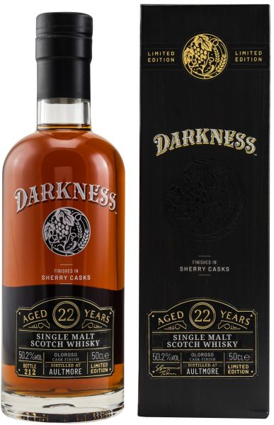 Aultmore 22 Jahre Oloroso Sherry Finish Darkness! 50,2% vol.