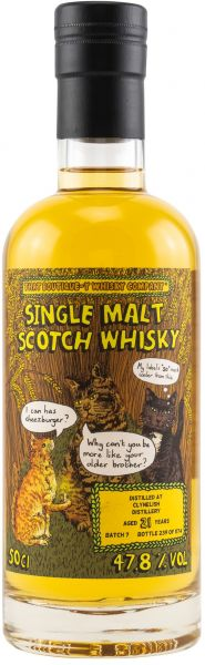 Clynelish 21 Jahre Batch #7 That Boutique-y Whisky Company 47,8% vol.