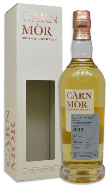 Ardmore 7 Jahre 2013/2021 Islay Cask Carn Mor Strictly Limited 47,5% vol.