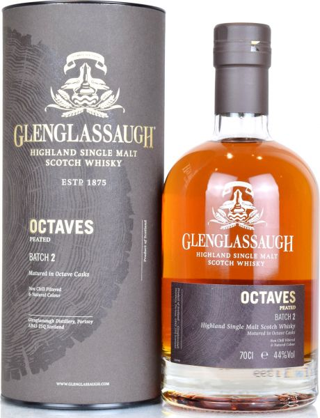Glenglassaugh Octaves Peated Batch #2